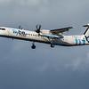Flybe - De Havilland Canada Dash 8-400 (G-ECOC) - Edinburgh Airport (February 2020)