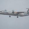 Flybe - De Havilland Canada Dash 8-400 (G-JECL) - Edinburgh Airport (February 2020)