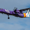 Flybe - De Havilland Canada Dash 8-400 (G-JEDU) - Heathrow Airport (February 2020)