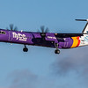 Flybe - De Havilland Canada Dash 8-400 (G-JEDV) - Edinburgh Airport (February 2020)