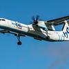 Flybe - De Havilland Canada Dash 8-400 (G-FLBA) - Heathrow Airport (February 2020)