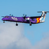 Flybe - De Havilland Canada Dash 8-400 (G-JEDW) - Edinburgh Airport (February 2020)