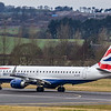 British Airways - Embraer E190-SR (G-LCYS) - Edinburgh Airport (January 2020)