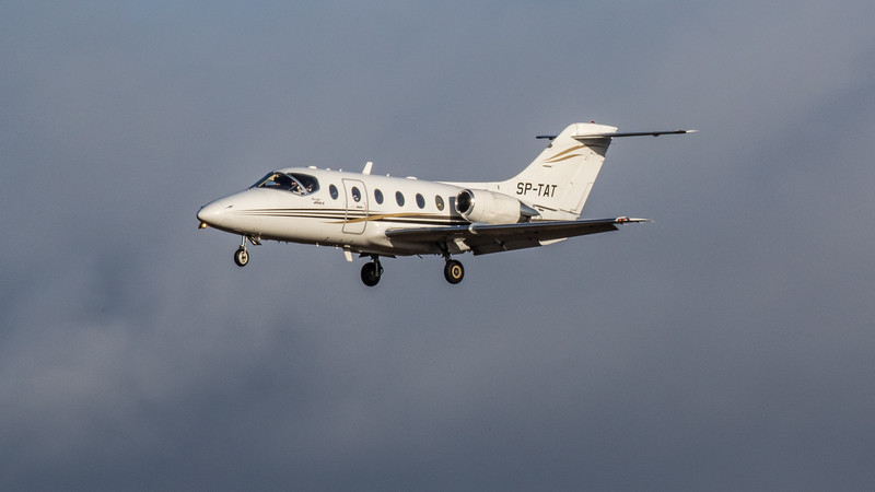 Private - Hawker Beechcraft 400-XP (SP-TAT) - Edinburgh Airport (February 2020)
