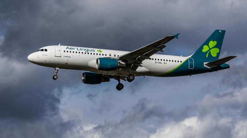 Aer Lingus - Airbus A320-214 (EI-DVL) - Heathrow Airport (March 2019)