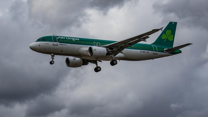 Aer Lingus - Airbus A320-214 (EI-DEL) - Heathrow Airport (June 2020)