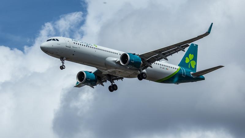 Aer Lingus - Airbus A321-253NX (EI-LRC) - Heathrow Airport (June 2020)