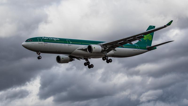 Aer Lingus - Airbus A330-302 (EI-EAV) - Heathrow Airport (August 2020)