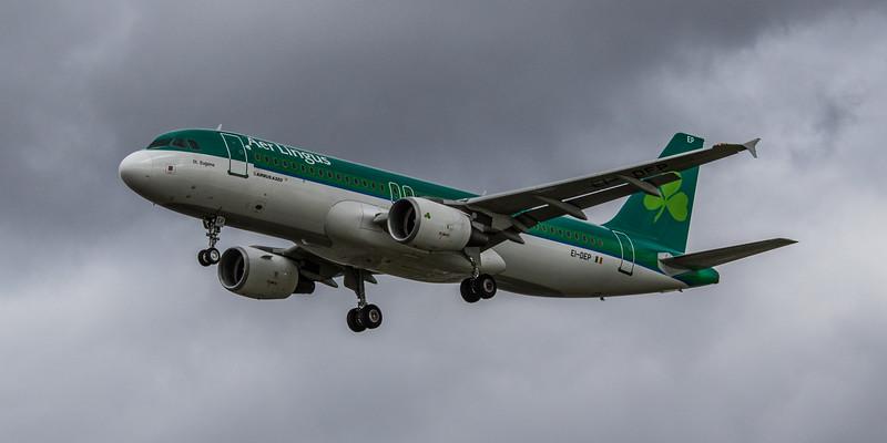 Aer Lingus - Airbus A320-214 (EI-DEP) - Heathrow Airport (March 2019)