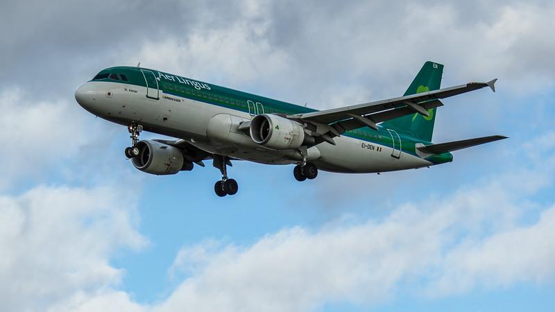 Aer Lingus - Airbus A320-214 (EI-DEN) - Heathrow Airport (March 2020)