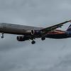 Aeroflot (Manchester United Livery) - Airbus A321-211 (VP-BTL) - Heathrow Airport (March 2020)