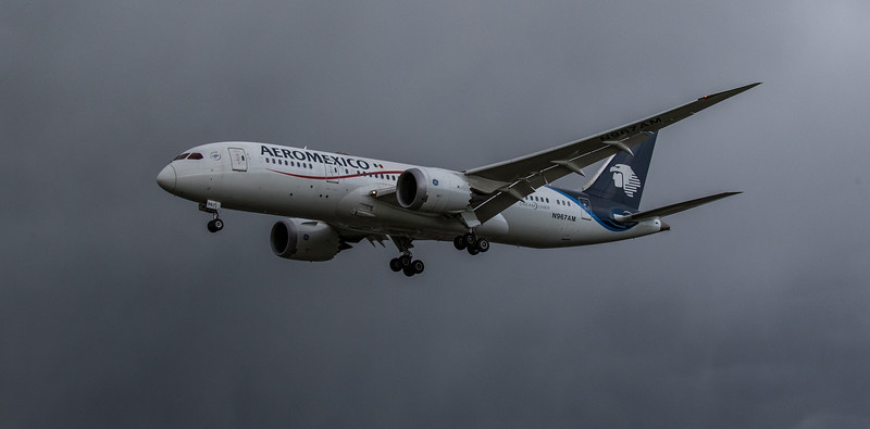 Aeromexico - Boeing 787-8 Dreamliner (N967AM) - Heathrow Airport (March 2019)
