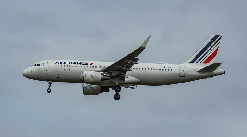 Air France - Airbus A320-214 (F-HEPJ) - Heathrow Airport (March 2020)