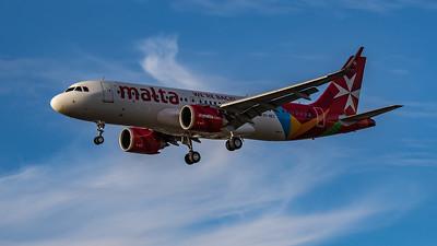 Air Malta - Airbus A320-251N (9H-NEC) - Heathrow Airport (August 2020)