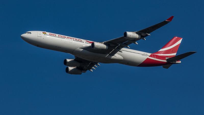 Air Mauritius - Airbus A340-313 (3B-NBE) - Heathrow Airport (March 2020)