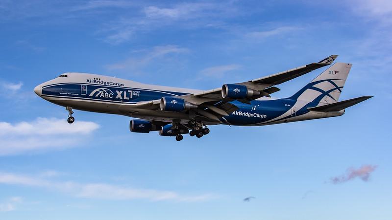 AirBridgeCargo - Boeing 747-46NF(ER) (VP-BIK) - Heathrow Airport (October 2020)