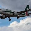 Alitalia - Airbus A319-112 (EI-IMO) - Heathrow Airport (August 2020)