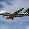 Alitalia - Airbus A319-111 (EI-IMP) - Heathrow Airport (July 2020)