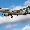 Alitalia - Airbus A320-216 (EI-DSA) - Heathrow Airport (June 2020)