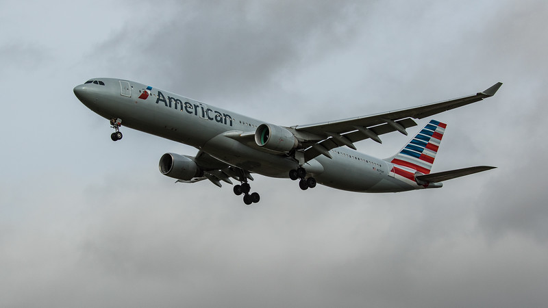 American Airlines - Airbus A330-323 (N275AY) - Heathrow Airport (March 2020)