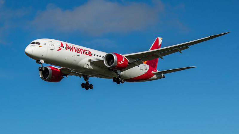 Avianca - Boeing 787-8 Dreamliner (N782AV) - Heathrow Airport (February 2020)
