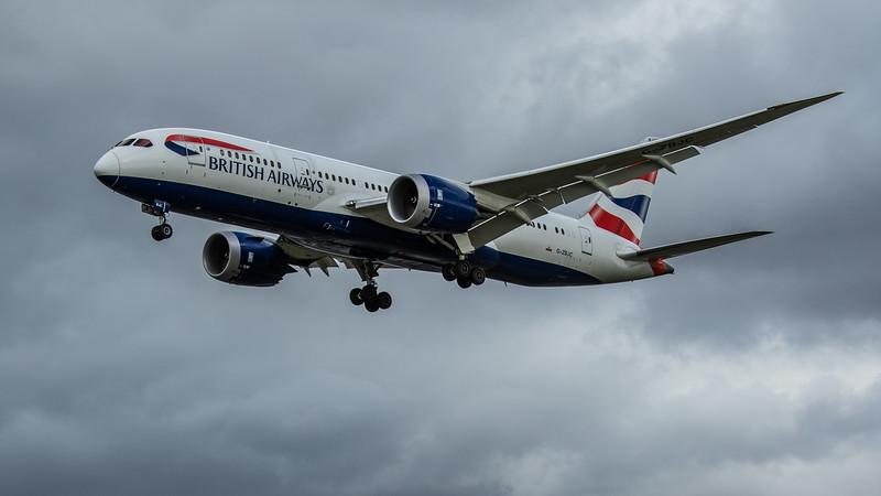 British Airways - Boeing 787-8 Dreamliner (G-ZBJC) - Heathrow Airport (February 2020)