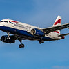 British Airways - Airbus A319-131 (G-EUPZ) - Heathrow Airport (October 2020)