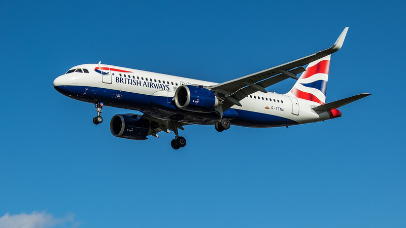 British Airways - Airbus A320-251N (G-TTNA) - Heathrow Airport (March 2020)