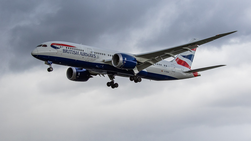 British Airways - Boeing 787-8 Dreamliner (G-ZBJK) - Heathrow Airport (March 2019)
