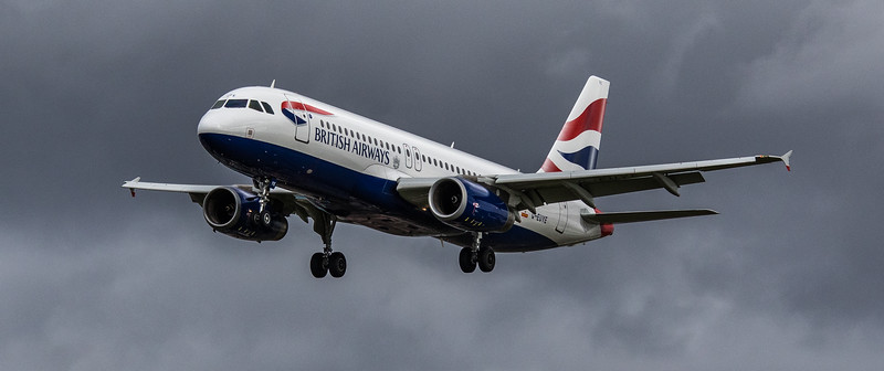 British Airways - Airbus A320-232 (G-EUYE) - Heathrow Airport (March 2019)
