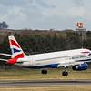 British Airways - Airbus A320-232 (G-EUYK) - Edinburgh Airport (March 2020)