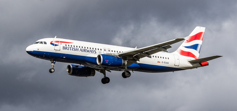 British Airways - Airbus A320-232 (G-EUUS) - Heathrow Airport (March 2019)
