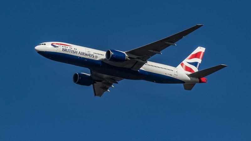 British Airways - Boeing 777-236(ER) (G-YMMK) - Heathrow Airport (March 2020)