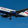British Airways - Airbus A319-131 (G-EUOA) - Heathrow Airport (February 2020)