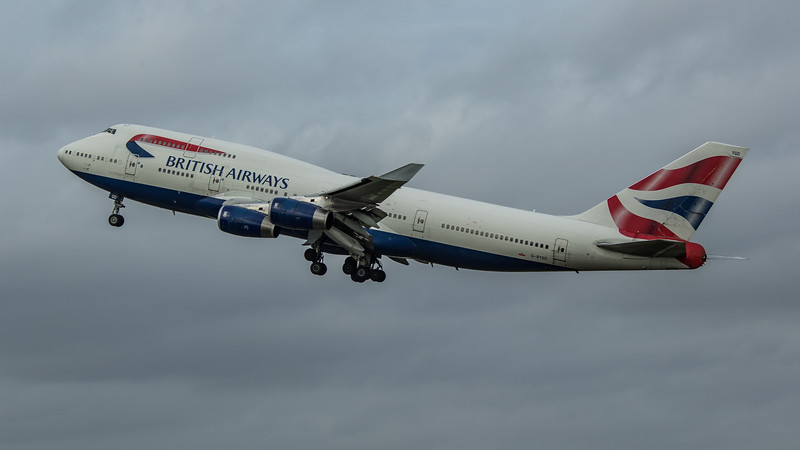 British Airways - Boeing 747-436 (G-BYGD) - Heathrow Airport (March 2020)