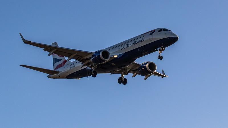 British Airways - Embraer E190-LR (G-LCAB) - Edinburgh Airport (February 2020)