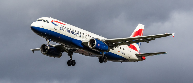 British Airways - Airbus A320-232 (G-EUUL) - Heathrow Airport (March 2019)
