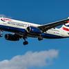 British Airways - Airbus A320-232 (G-EUUP) - Heathrow Airport (March 2020)
