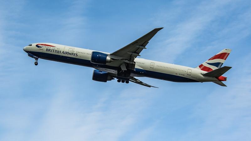 British Airways - Boeing 777-36N(ER) (G-STBB) - Heathrow Airport (March 2020)