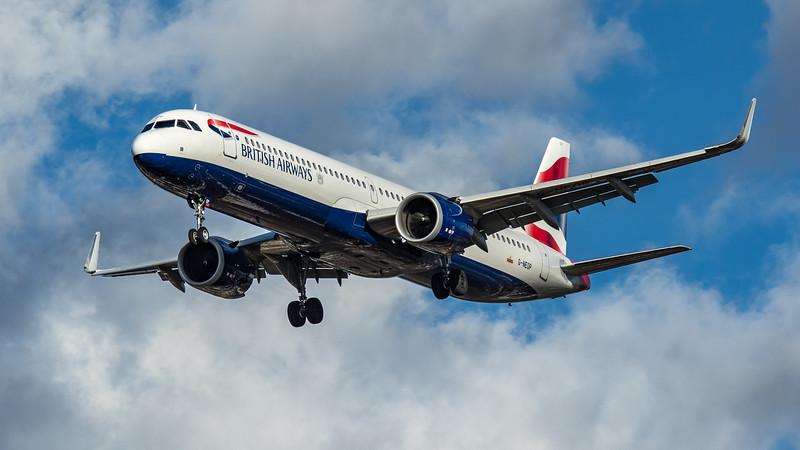 British Airways - Airbus A321-251NX (G-NEOP) - Heathrow Airport (March 2020)