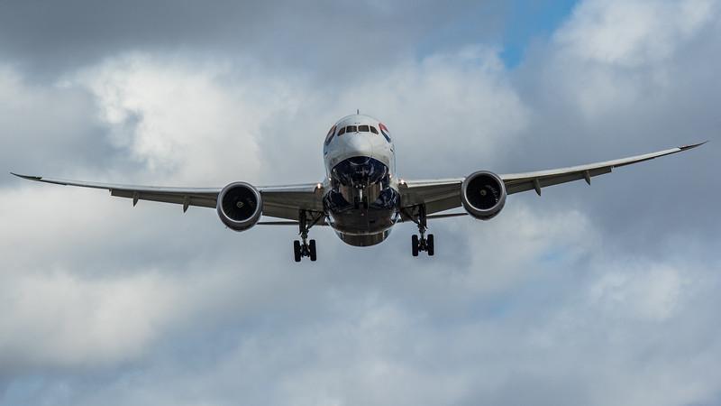 British Airways - Boeing 787-8 Dreamliner (G-ZBJA) - Heathrow Airport (March 2020)