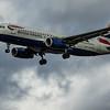 British Airways - Airbus A320-232 (G-EUUG) - Heathrow Airport (March 2020)