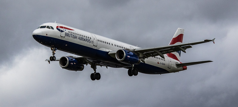 British Airways - Airbus A320-231 (G-EUXH) - Heathrow Airport (March 2019)
