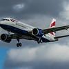 British Airways - Airbus A320-251N (G-TTNK) - Heathrow Airport (March 2020)