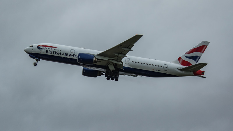 British Airways - Boeing 777-236(ER) (G-YMMN) - Heathrow Airport (March 2020)