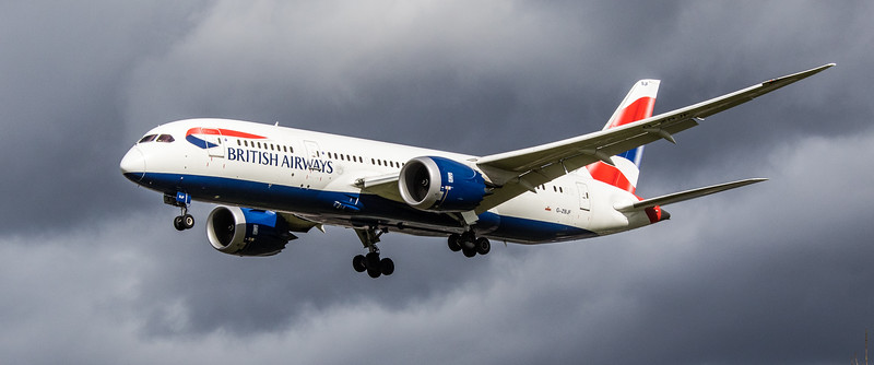 British Airways - Boeing 787-8 Dreamliner (G-ZBJF) - Heathrow Airport (March 2019)