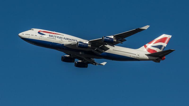 British Airways - Boeing 747-436 (G-BYGA) - Heathrow Airport (March 2020)