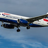 British Airways - Airbus A319-131 (G-DBCJ) - Heathrow Airport (February 2020)