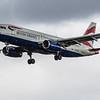 British Airways - Airbus A320-232 (G-EUUJ) - Heathrow Airport (March 2019)