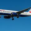 British Airways - Airbus A320-232 (G-EUYM) - Heathrow Airport (March 2020)